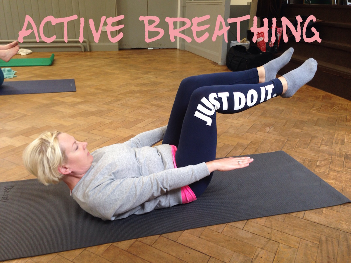 Pilates Move Hundred Active Breathing QuinnPilates
