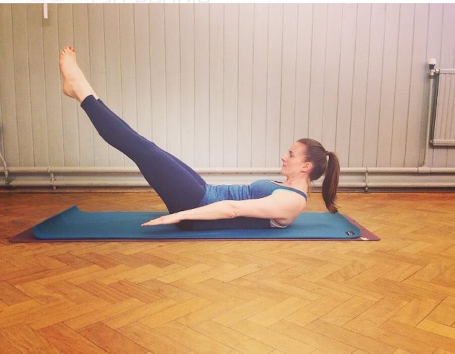 Quinn Pilates Hundred Straight Leg Move